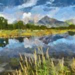 Schwabacher Landing, the Tetons