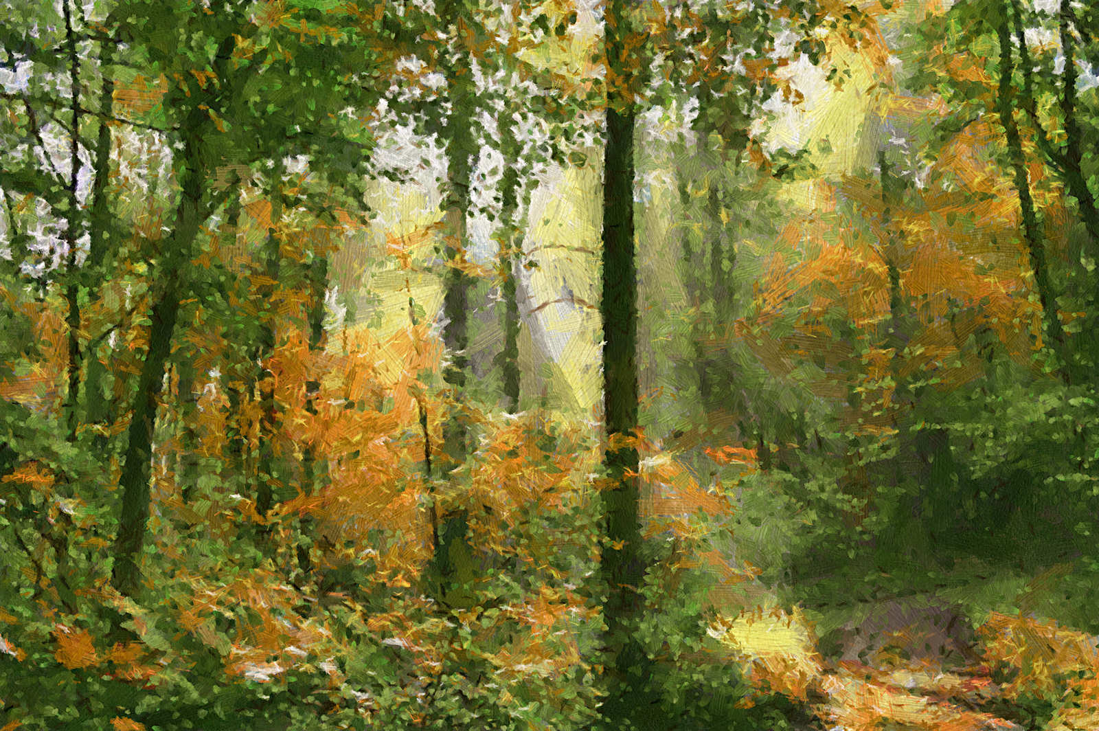 most famous paintings  Famous Forest Paintings